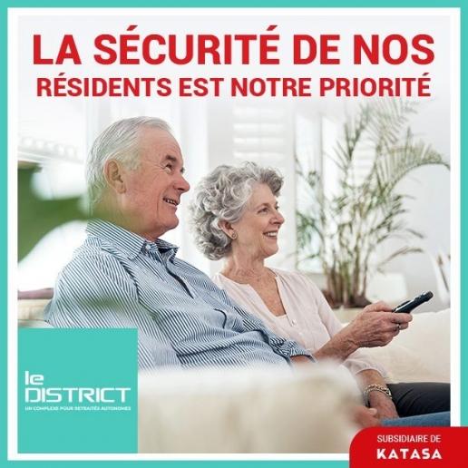 sécurité de nos résidents