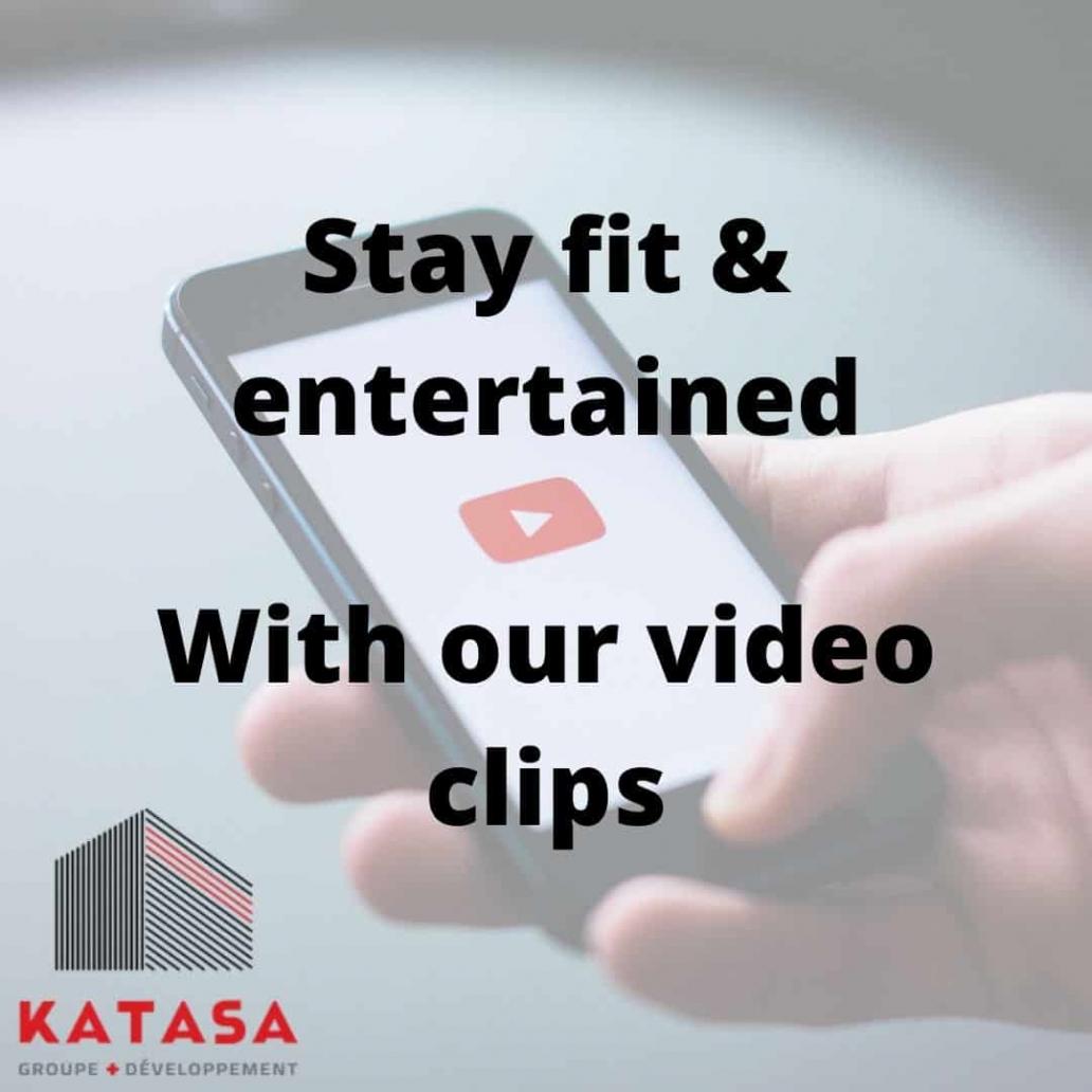 Enjoy various video clips