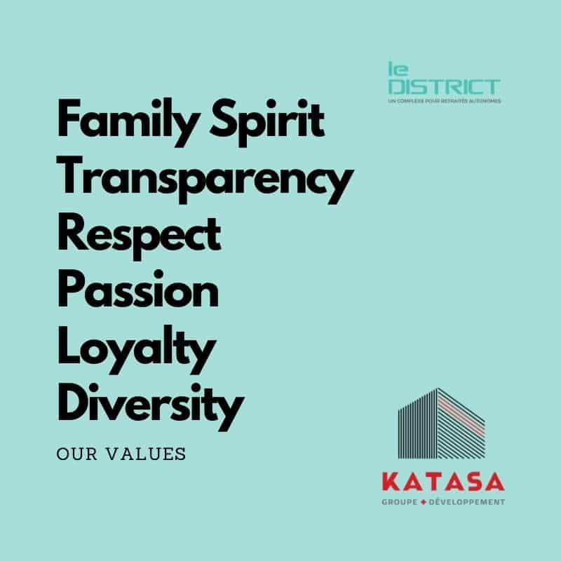 katasa values