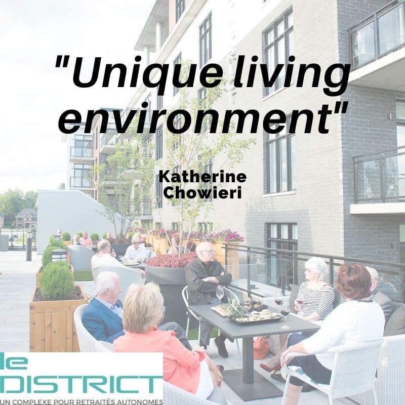 ld unique living environment