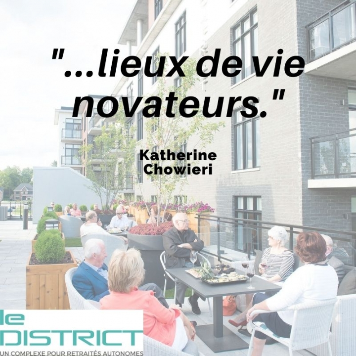 lieux de vie novateur Le District
