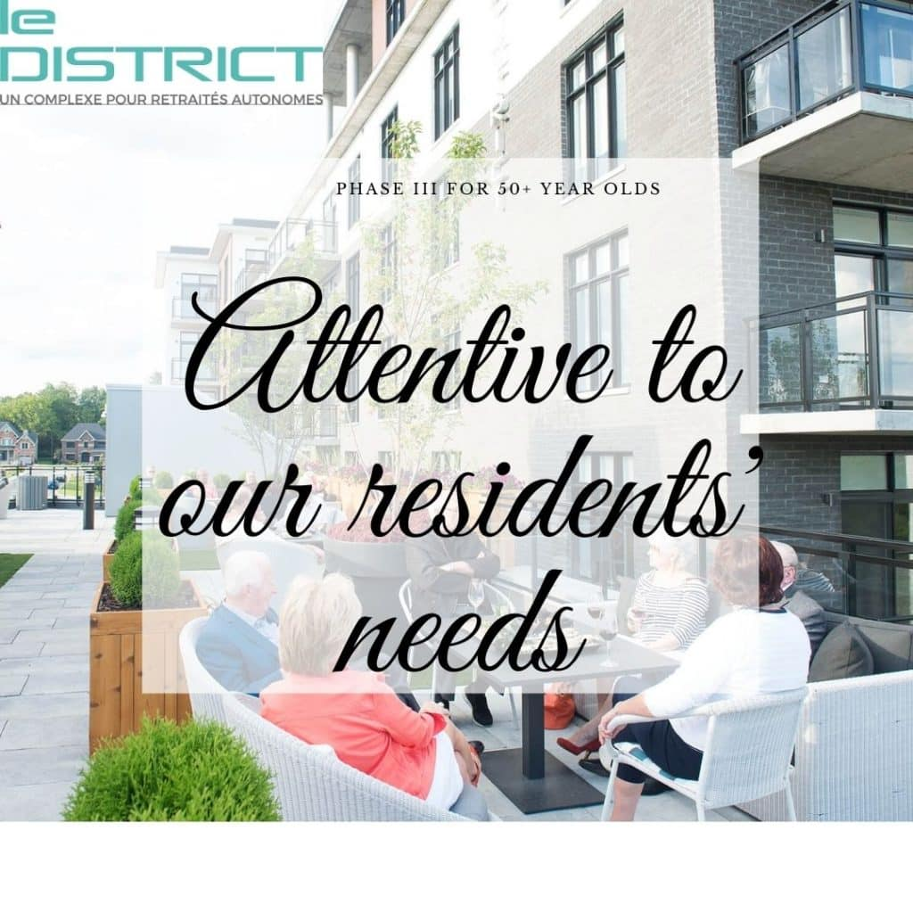 LD phase 3 attentive to our residents needs